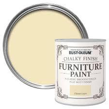 rust oleum rust oleum clotted cream chalky matt furniture paint