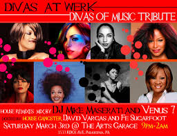 garage house music ra divas at werk divas of house music tribute at the arts