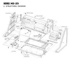 korg ms 20 synthesizer service manual