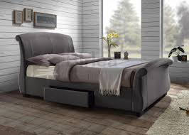 birlea barcelona fabric storage bed frame in grey from 349 beds