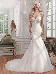 lace mermaid wedding dress 38 sweetheart wedding dresses that wow weddingomania