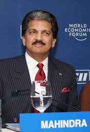 who is the owner of company anand mahindra