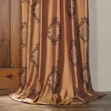 classic taj mahal silk curtains drapes
