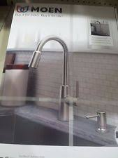 moen nori spot resist stainless one handle pulldown kitchen faucet