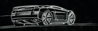 sketch of lamborghini gallardo lamborghini gallardo design sketch 09 supercar sketches