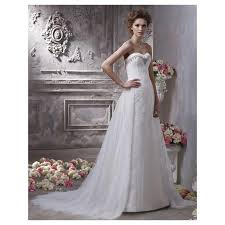 Wedding Dresses Prices 2017 Sweep Length Lace Organza Bridal Gown With Sweetheart