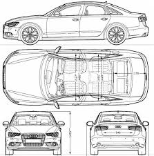 dimension audi a6 audi a6 2013 blueprint audi a6 cars and car