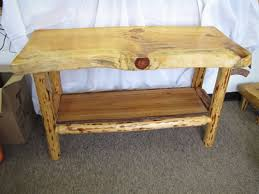 Rustic Log Benches - home mountain breeze log furniture