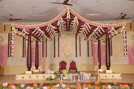 decoration for wedding stage in coimbatore by nilla blooms the