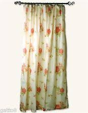 simply shabby chic pink floral toile fabric shower curtain ebay