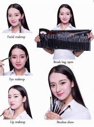 maquiagem makeup brushes 24 pcs 72 colors eye shadow palette