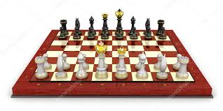 how to set up chess table chess board set up to begin a game stock photo alexmit 27417829