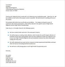 ideas of sample proposal letter for photography for your