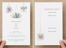 how to print wedding programs fantastic and modern wedding programs and how to print them