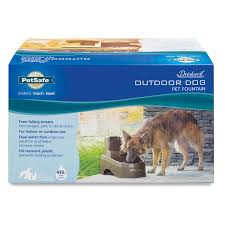 drinkwell outdoor dog fountain by petsafe ddog inout