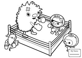 Coloring Pages For Kids Octonauts Cartoons Meet The Frown Fish Octonauts Coloring Pages