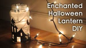 halloween room decor diy enchanted lantern sunny diy youtube