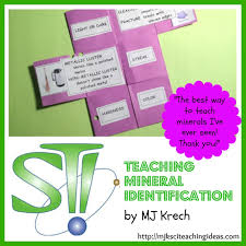 teaching mineral identification