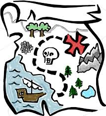 Blank Treasure Map by Clipart Treasure Map Clipartfest