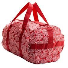 amazon com ikea knalla sports bag red white sports u0026 outdoors