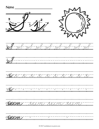 27 best cursive writing worksheets images on pinterest cursive