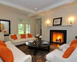 Orange Living Room Set White Leather Living Room Sets Orange Living Room Walls Silver