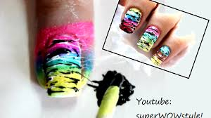 colorful nail designs spun sugar nail designs tutorial video