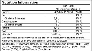 eu nutrition facts label food labeling software esha research