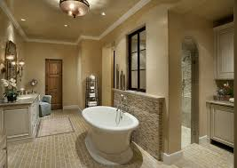 Stand Alone Tub Bathroom Traditional With Candles Single Sink