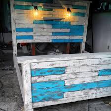 Pallet Bed Frame Plans Diy King Size Pallet Bed Frame Pallet Bed Frames Bed Frames And