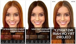 virtual hair colour changer virtual hair color changer app trend hairstyle