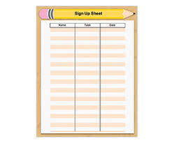 back to sign up sheet get this free printable
