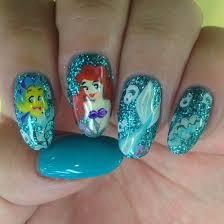 30 classic mermaid nail art ideas
