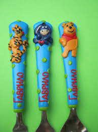 handmade personalized cutlery for children and adults