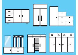 furniture and closet vectors download free vector art stock