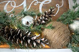 Decorating A Log Cabin Home Christmas Mantel The Lilypad Cottage
