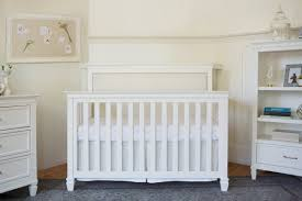White 4 In 1 Convertible Crib by Million Dollar Baby Classic Darlington 4 In 1 Convertible Crib