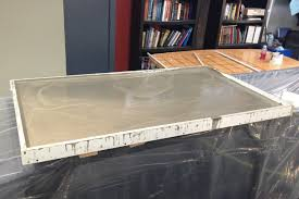 How To Make A Concrete Table by Diy Concrete Countertops Txrx Labs