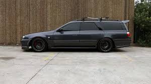 skyline wagon double unicorn nissan stagea with a turbo vh41de part 1 nissan