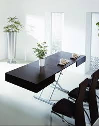 dining table converts to coffee table