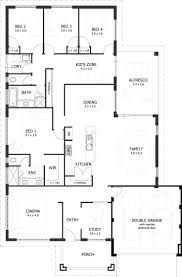 colonial country farmhouse house plan 85454house plans open floor