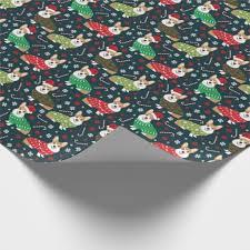 corgi wrapping paper corgi sweaters wrapping paper christmas