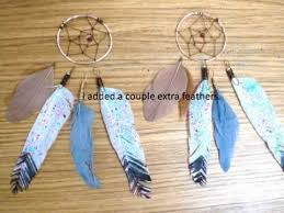 how to make feather earrings diy feather earrings splatter painted
