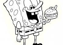free spongebob coloring pages wallpaper download cucumberpress