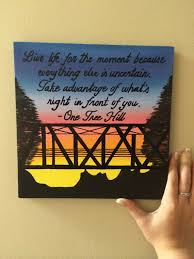one tree hill sorority painting opening credits fonts and bridge