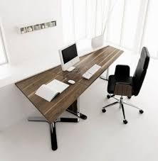 Sturdy Office Desk Home Design Black Contemporary Stylish Computer Desk Workstation