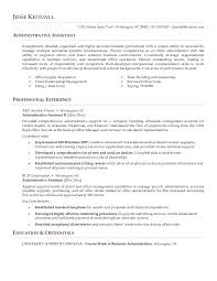resume sles for executive assistant jobs sales administrative assistant resume paso evolist co