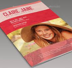 templates for funeral programs 15 great funeral brochure templates desiznworld