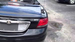 2004 chrysler sebring convertible black youtube