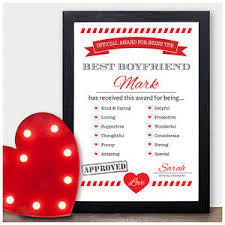 paper anniversary gifts for husband personalised 1st anniversary gift best husband award paper